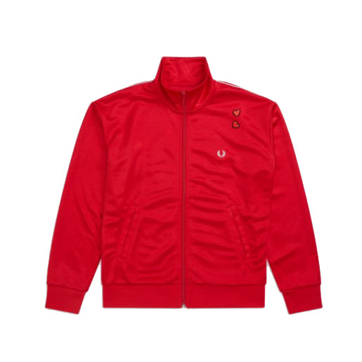 Fred Perry x Amy Winehouse Embroidered Track Jacket<p>Lipstick Red
