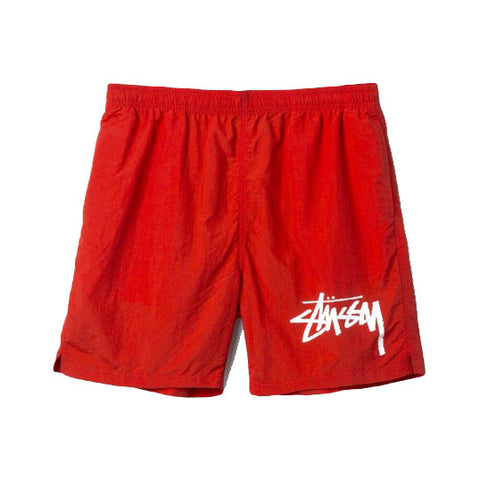 Stüssy Stock Elastic Waist Trunks<p>Red