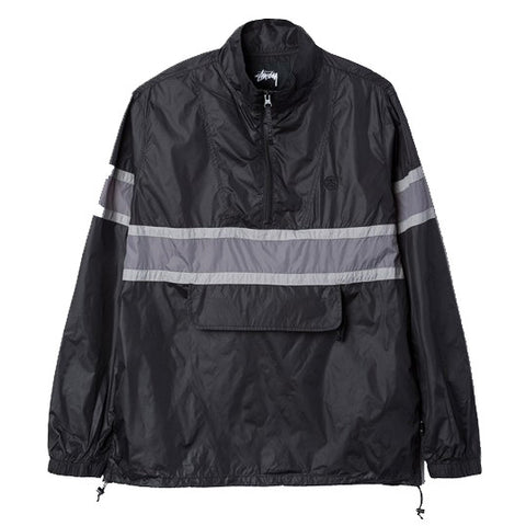 Stüssy Strip Track Pullover Jacket<p>Black