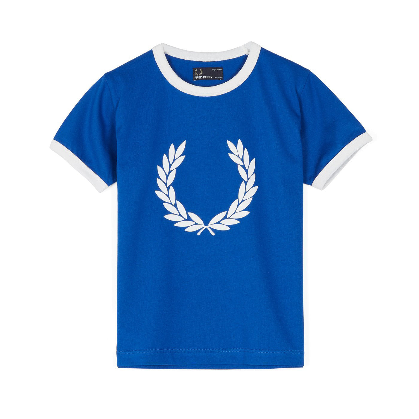 Fred Perry Kids Laurel Wreath Ringer T-Shirt<p>Regal