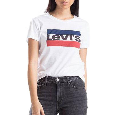 Levi's The Perfect Graphic Tee<p>Sportswear Logo White
