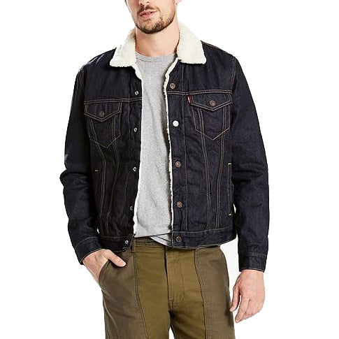 Levi's Sherpa Trucker Jacket<p>Raw Power Sherpa