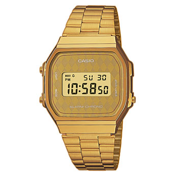 Casio Collection Retro<p>A168WG-9BWEF