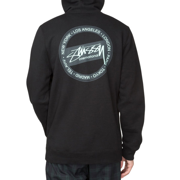 Stussy International Dot Zip Hood<p>Black