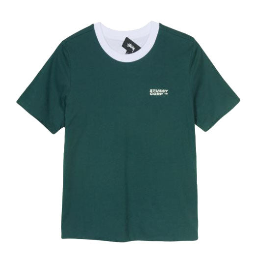 Stüssy Sideline Reversible Tee <p>Forest Green