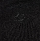 Fred Perry Classic V Neck Jumper<p>Black Marl