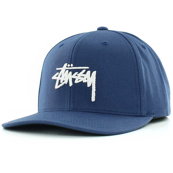 Stüssy <p>Washed Oxford Strapback Cap <p>Navy