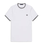 Fred Perry Twin Tipped T-ShirtT<p> White