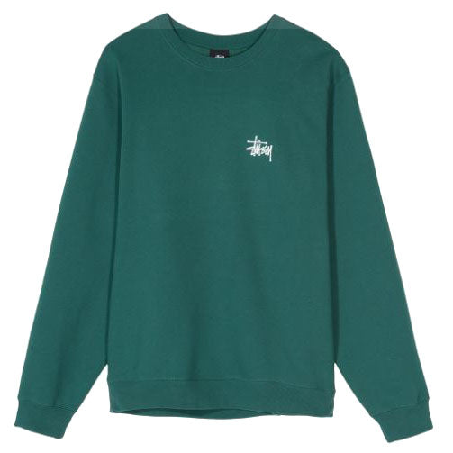 Stüssy <P>Basic Crew<p>Green