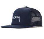 Stüssy Smooth Stock Foam Trucker Cap <p>Navy