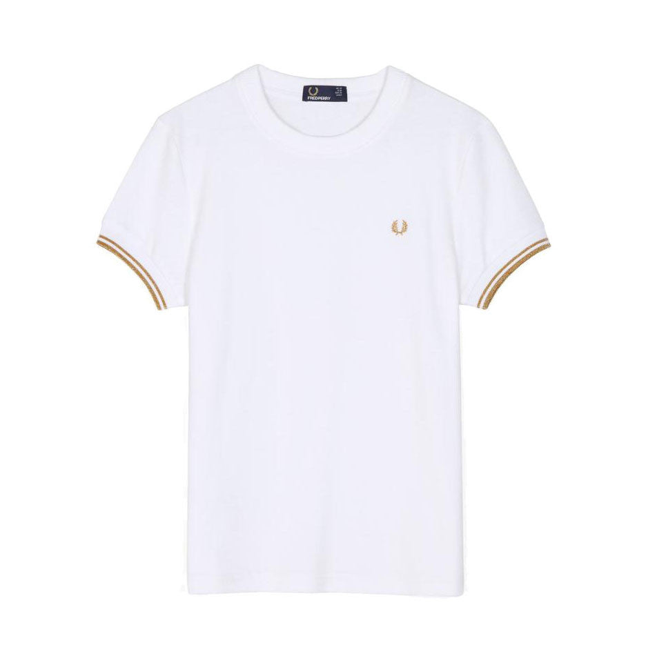 Fred Perry Tipped Crew Neck T-shirt <p>White