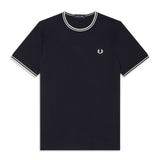 Fred Perry Twin Tipped T-ShirtT<p>Navy