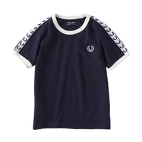 Fred Perry Kids Taped Ringer T-shirt<p>Carbon Blue