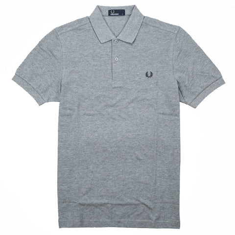 Fred Perry Plain Shirt<p>Steel Marl