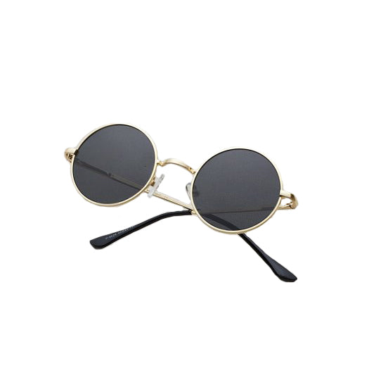 Not Yet Famous  Gold Sunglasses<p>Jonh
