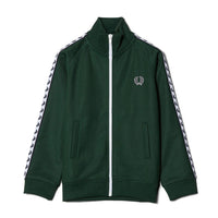 Fred Perry Kids Laurel Wreath Taped Track Jacket<p>Ivy