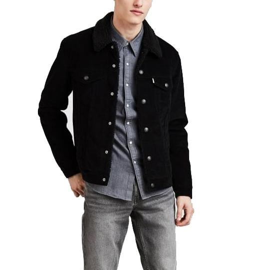 Levi's Type 3 Sherpa Trucker<p>Black Cord Better