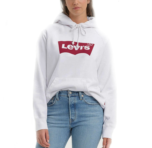 Levi's® Graphic Classic Logo Hoodie<p>White