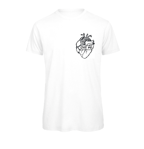Not Yet Famous Love Me T-Shirt<p>White  [ Women ]