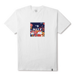 HUF Memorial Box Logo<p>White