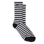 OBEY Dale Socks <p>Black n White