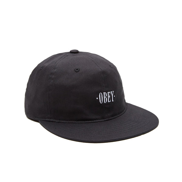OBEY Birch Flexfit Hat<p>Black