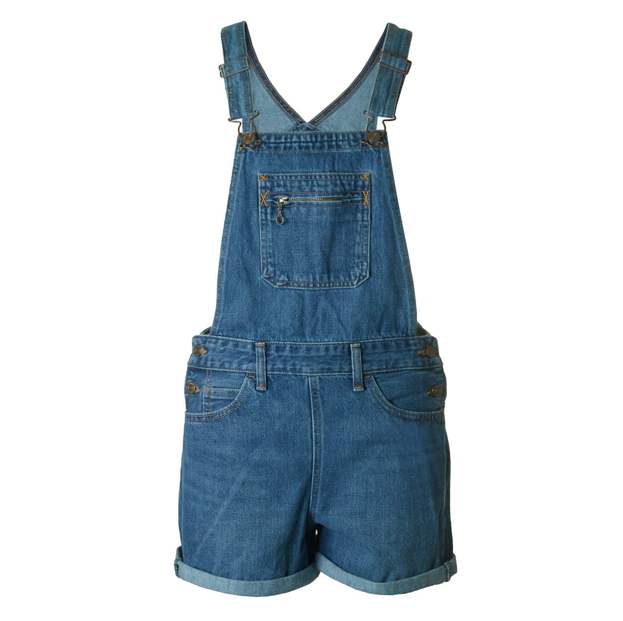 Levi's Orange Tab Shortalls <p>Crazy Venture