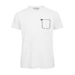 Not Yet Famous Pocket T-Shirt<p>White  [ Men ]