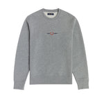 Fred Perry Embroidered Sweatshirt <p>Steel Marl