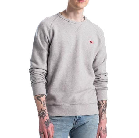 Levi's Housemark Sweatshirt<p>Medium Grey Heather