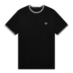Fred Perry Twin Tipped T-ShirtT<p> Black