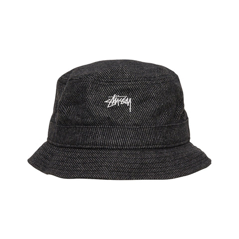Stussy Textured Wool Bucket Hat<p>Black