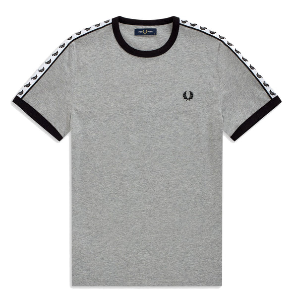 Fred Perry Taped Ringer T-Shirt <p>Steel Marl