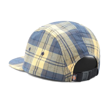 Hornbeck Check 5 Panel Hat<p>Air Force Blue