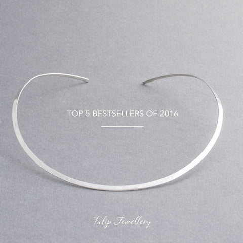 Top 5 bestsellers from 2016 Tulip jewellery