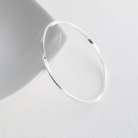 Christmas Gifts for Her - Sterling Silver Bangles and Cuffs