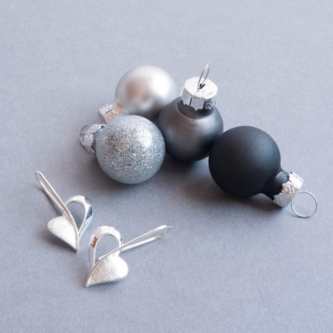 Christmas Gift Ideas for Her - Sterling Silver Earrings