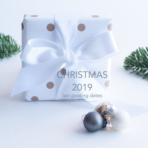 Last Posting Dates Christmas 2019 UK