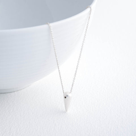 Metropolitan Silver Necklace
