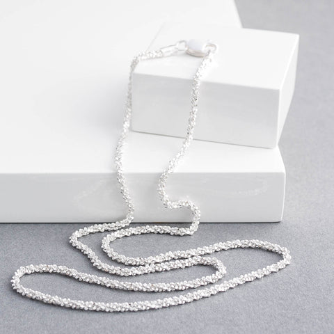 Sterling Silver Stardust Necklace