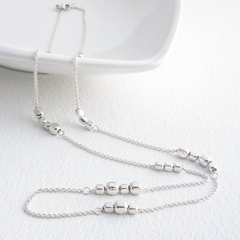 Endless Cube Station Necklace