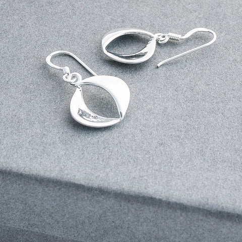 Clara Silver Drop Earrings