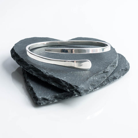 Lily Tapered Cross Over Bangle
