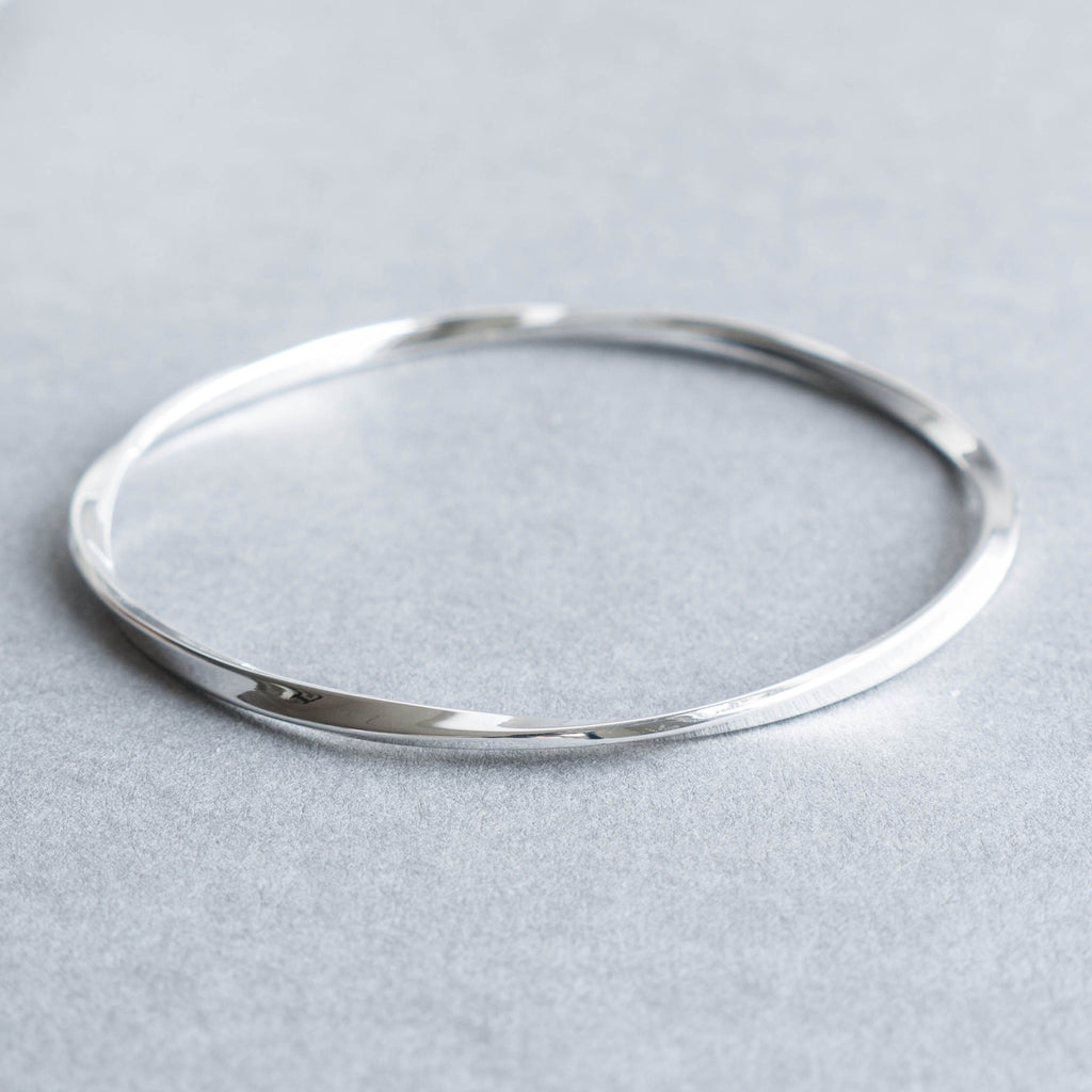 gunmetal bonas oliver bangles bangle twist jewellery agatha