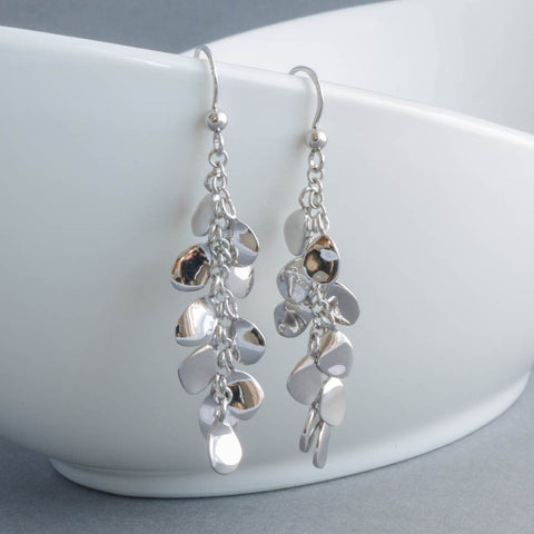 Rainfall Sterling Silver Drop Earrings