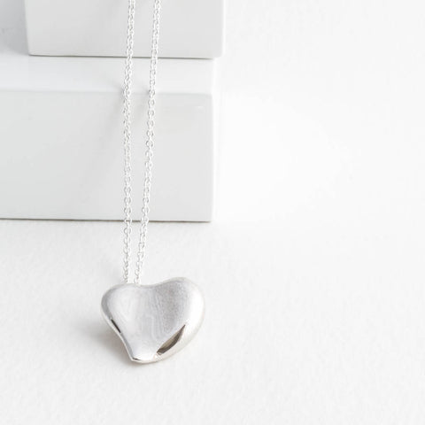 Sterling silver necklaces tulip jewellery cora sterling silver heart pendant aloadofball Gallery