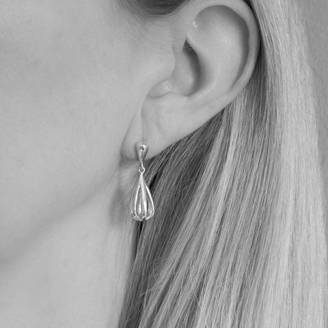 Metropolitan Sterling Silver Drop Earrings