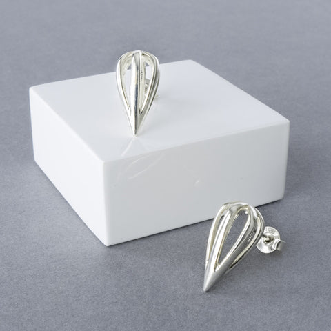 Metropolitan Sterling Silver Stud Earrings