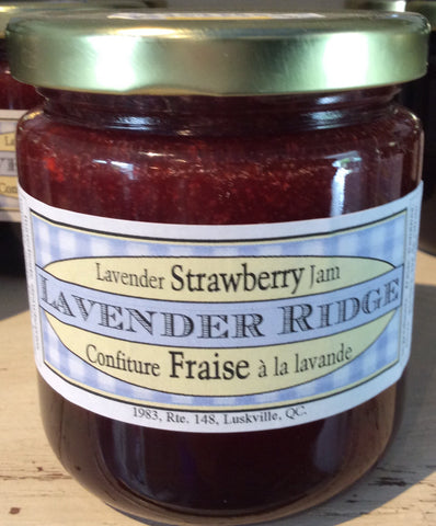Condiments - Condiment - Strawberry Lavender Jam - Configure De Fraise Et Lavande