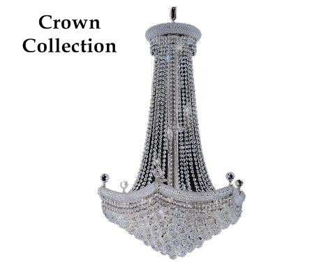 crown chandeliers